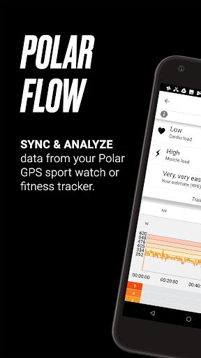 Polar Flow u2013 Sync & Analyze 5.4.0 Screenshots 1