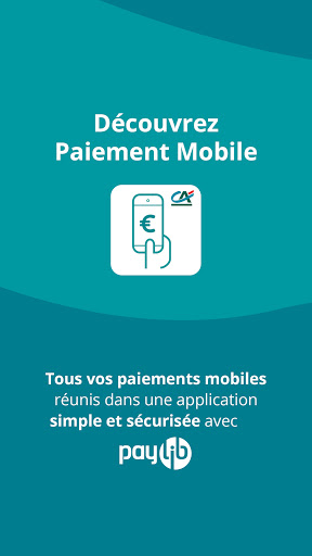Paiement mobile CA  Screenshots 1