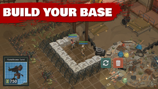 Overrun Zombie Tower Defense: Free Apocalypse Game apkdebit screenshots 3