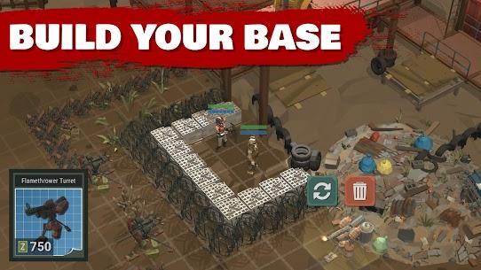 Overrun Zombie Tower Defense Free Apocalypse Para Hileli Apk Güncel 2021** 3