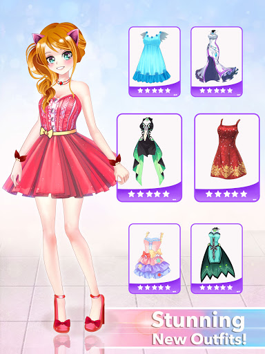 Anime Dress Up Queen Game for girls 0.1 screenshots 9