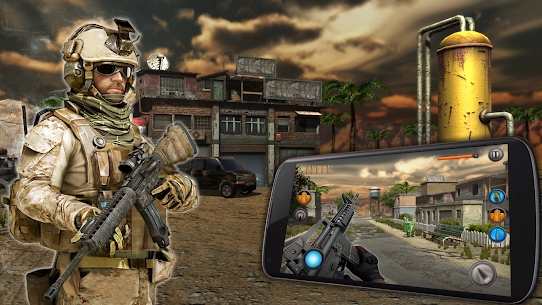 Sniper Elite Force 3: 3D Shooter SWAT Mission 1.3 [MOD APK] Android 1