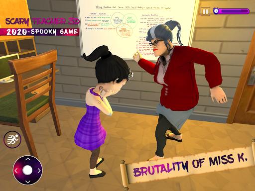 Scary Evil Teacher 3D Game Creepy Spooky Game 2020 3.2 screenshots 8