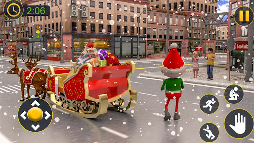 Christmas Santa Crazy Kart Gift Delivery Game 2020 1.2 screenshots 3