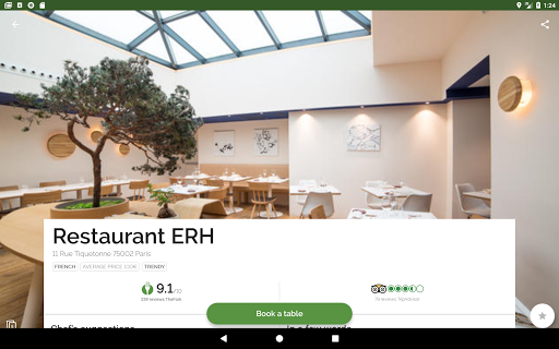 TheFork - Restaurants booking and special offers 17.2.1 Screenshots 8