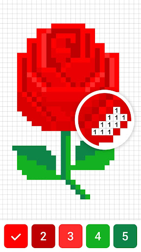 Draw.ly - Color by Number Pixel Art Magic Coloring  screenshots 2