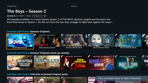 Prime Video - Android TV screenshots 2