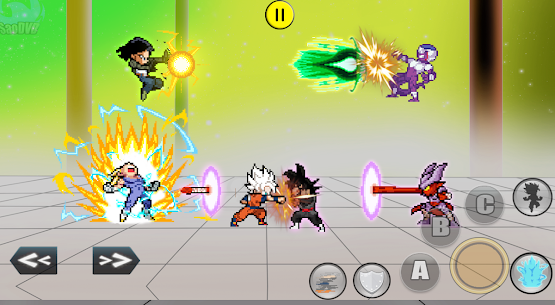 DBZ Super Fighters Battle Mod Apk 2.0.1 (Large Amount of Currency) 1