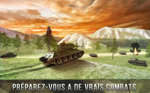 Tank Battle 3D: World War II APK MOD – Pièces Illimitées (Astuce) screenshots hack proof 1