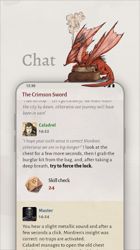RoleEver - Tabletop RPGs by chat  screenshots 2
