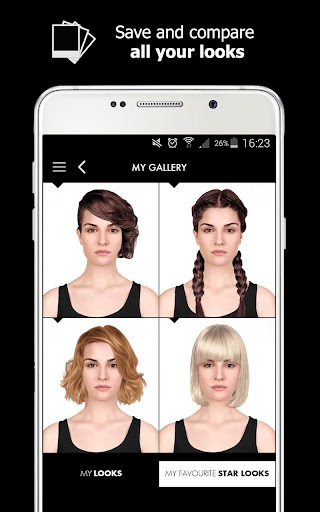 Style My Hair: Discover Your Next Look modavailable screenshots 9