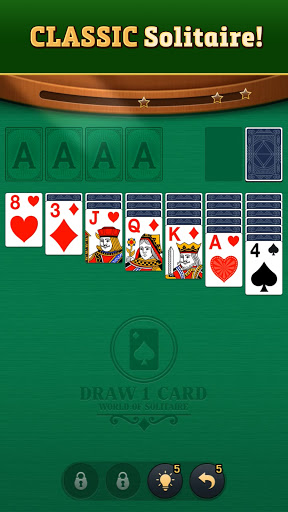 World of Solitaire: Klondike modiapk screenshots 1