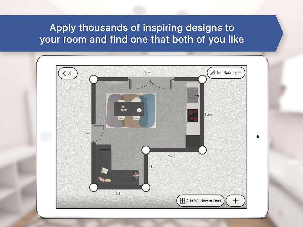 Room Planner: Home Interior & Floorplan Design 3D poster 11