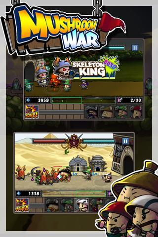 Mushroom War filehippodl screenshot 3
