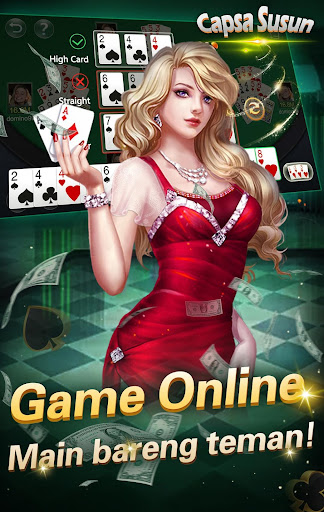 Capsa susun poker bonus  remi  gaple domino online 1.4.4 screenshots 2