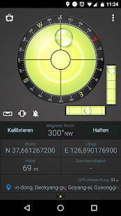 Kompass Wasserwaage & GPS Screenshot
