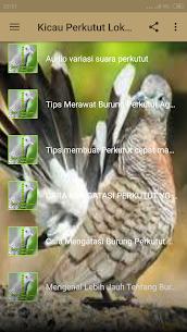 Kicau Perkutut Lokal Terbaru Offline 1.7 Download Mod Apk 3