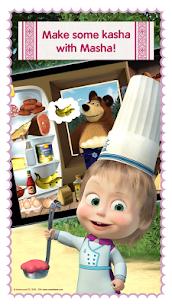 Masha and Bear: Cooking Dash MOD (Paid Characters Unlocked ) 5