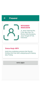 Image For SiPedro - Absensi Pegawai by Android - Fingerprint Versi 1.2 12