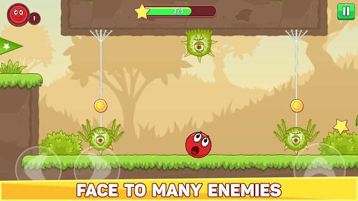 Bounce Ball 5 - Jump Ball Hero Adventure 3.9 Screenshots 2