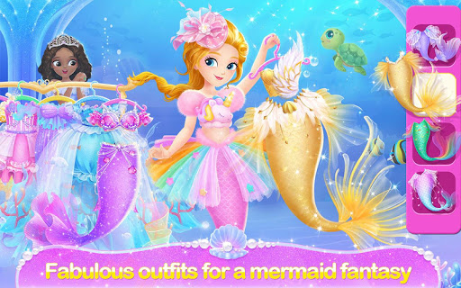 Princess Libby Little Mermaid android2mod screenshots 4