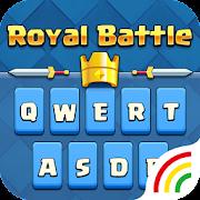 Royal Battle Keyboard Theme