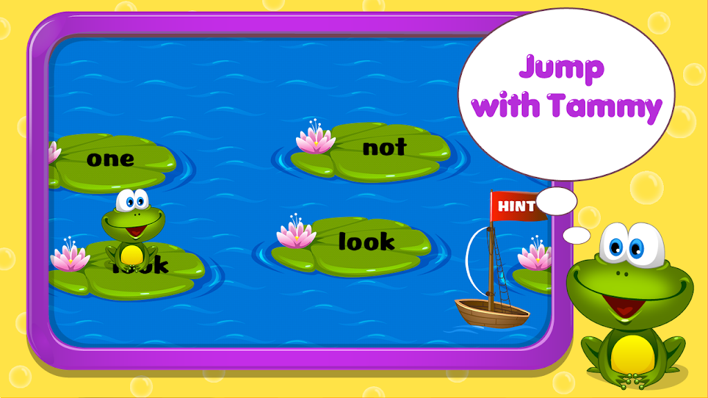 Kids Reading Sight Words  poster 3