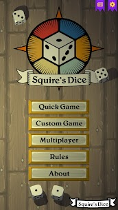 Squire's Dice For Pc, Windows 7/8/10 And Mac Os – Free Download 1