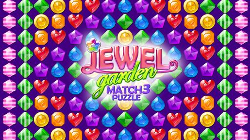 Code Triche bijou jardin: match 3 puzzle APK MOD (Astuce) screenshots 1