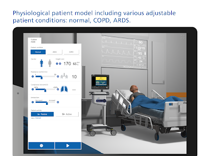 HAMILTON-C6 ventilator and patient simulation Apk Download 2021 3