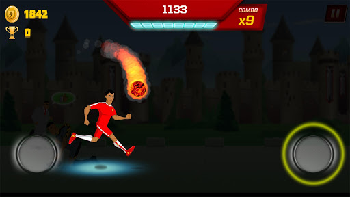 Supa Strikas Dash - Dribbler Runner Game apkdebit screenshots 14