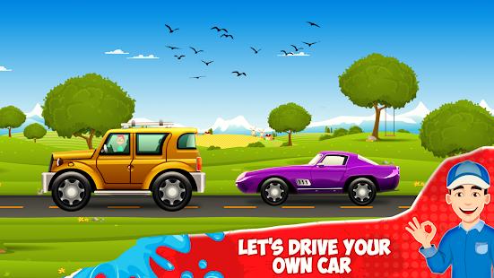 Car Wash- Kids Car Wash Cleaning Service Game 2021 1.1.4 screenshots 3