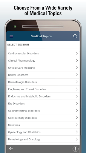 MSD Manual Professional  Screenshots 2