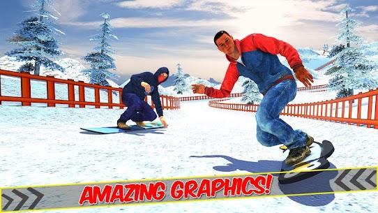 Snowboard Downhill Ski: Skater Boy 3D 6