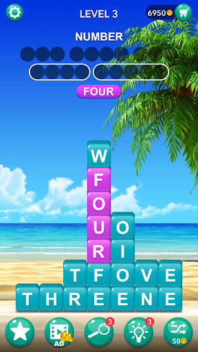 Word Tiles : Hidden Word Search Game Latest screenshots 1