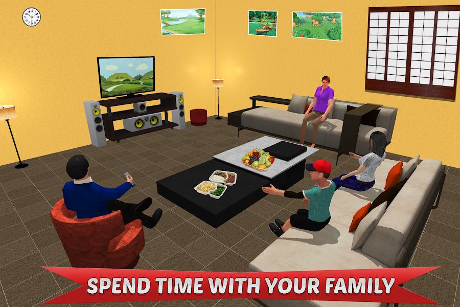 Step Mom Simulator: Virtual Mother Family Life