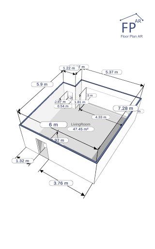 Floor Plan AR   Room Measurement 12.7 Screenshots 19