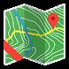 バックカントリーナビゲータートポマップのGPSデモ - Androidアプリ