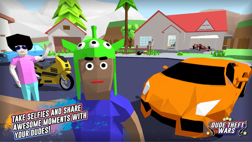 Dude Theft Wars: Open world Sandbox Simulator BETA  screenshots 4