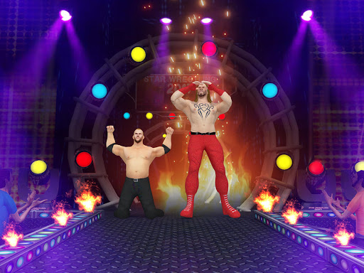 Tag Team Wrestling Games: Mega Cage Ring Fighting modavailable screenshots 16