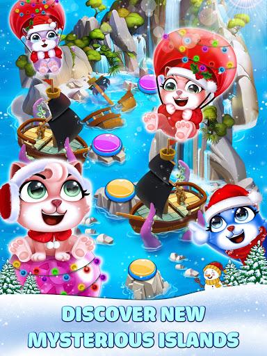 Cat Pop Island: Bubble Shooter Adventure Apkfinish screenshots 19