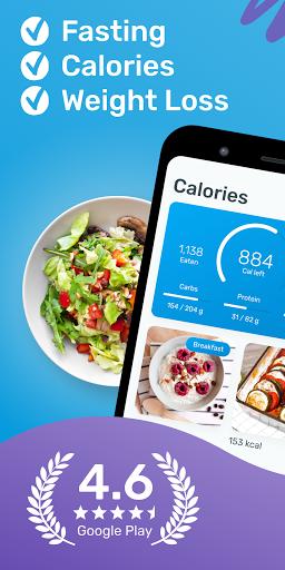 YAZIO Calorie Counter & Intermittent Fasting App 7.1.5 Screenshots 1