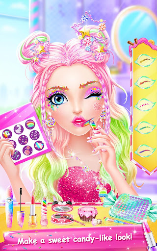 Candy Makeup Party Salon  screenshots 7