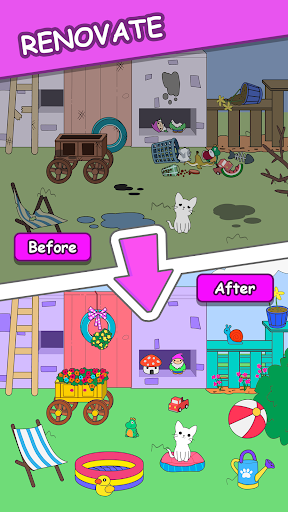 Cats Tower - Adorable Cat Game! screenshots 1