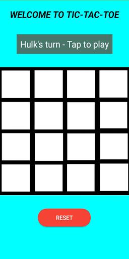 advanced tictactoe screenshot 1