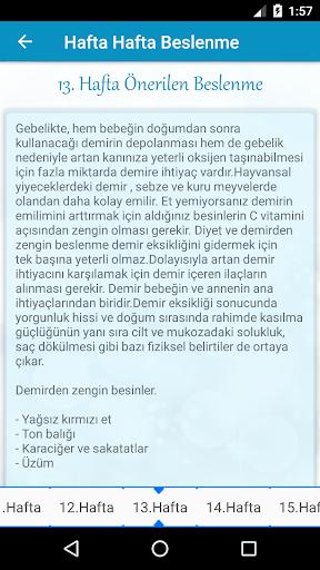 Hamilelik Takibi HAM.TAK.v.17 Screenshots 7