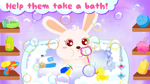 Baby Panda's Bath Time modavailable screenshots 12
