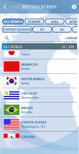 The Flags of the World u2013 World Flags Quiz 5.6 screenshots 8