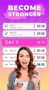 Pilates workout routine-Fitness exercises at home 2.5.0 Apk 3
