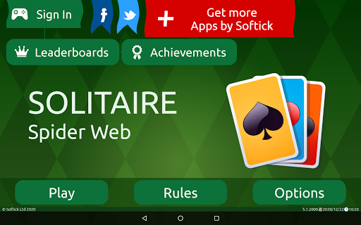 Spider Solitaire (Web rules)  screenshots 16